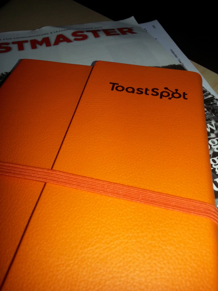 ToastSpot Notebook